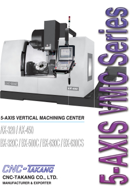 5-AXIS VMC Series